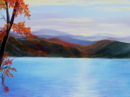lake_lure sunrise