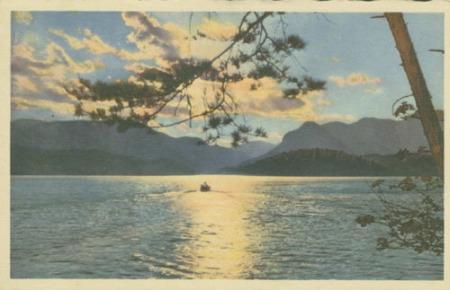 lake lure sunset