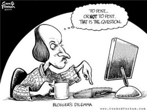 BLoggers Dilemma graphic