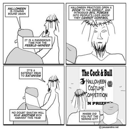 jesus and mo halloween