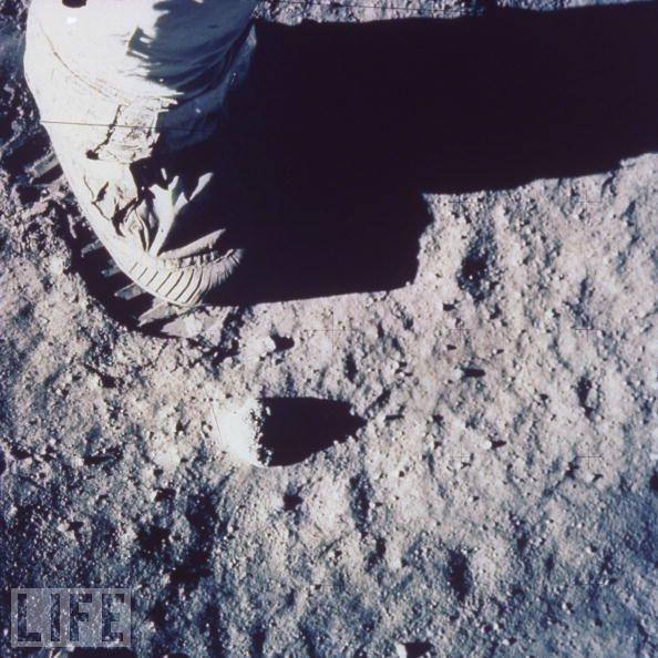 nasa moon footprint - photo #19